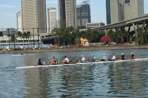 2015 Asian Rowing Cup I in Singapore