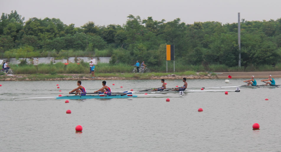 2015 Asian Rowing Junior Championships in Wuhan, China