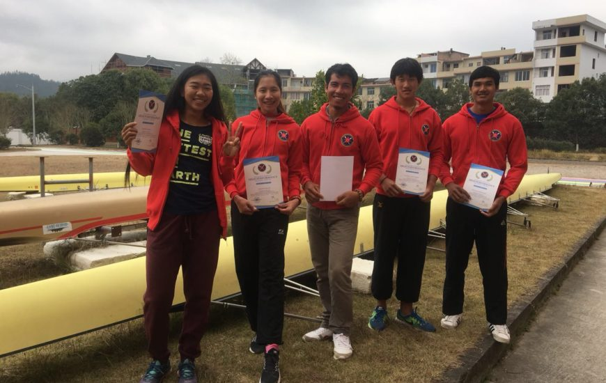 2018 ARF Junior Rowing Training Camp in Chungju, Korea