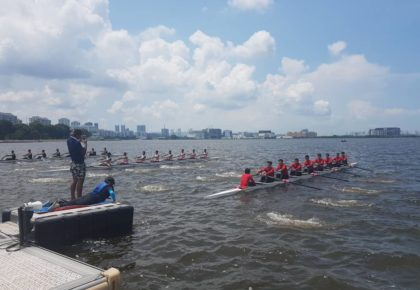 2018 Asian Rowing Cup I in Singapore from 26th, 29th April 2018