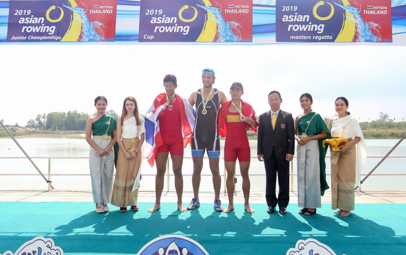 2019 Asian Rowing Junior Championships, 2019 Asian Row Cup, 2019 Asian Rowing Masters Regatta (21 Dec 19)